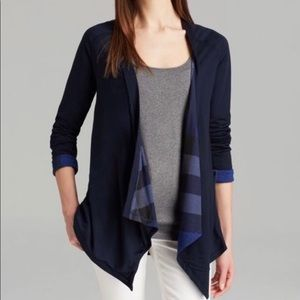 Authentic Burberry waterfall cardigan